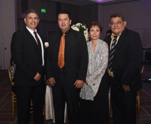 José Luis Zelaya, Carlos Jiménez, Claudia González e Ivan González