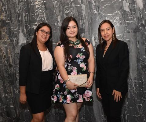 Kelin Vega, Norma Toro y Glenda Euceda