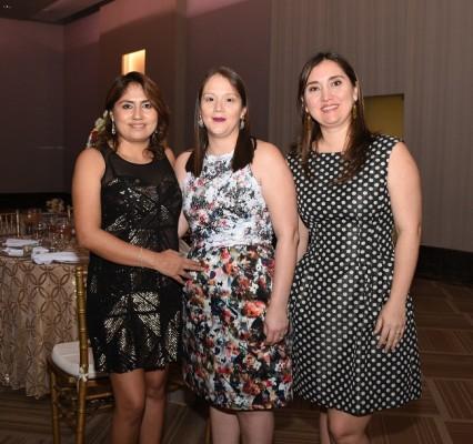 Kimberly Contreras, Rosa María Castellón y Any Flores