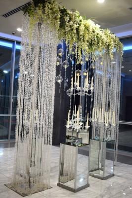 La decoración del salón fue elaborada por Irela Pérez junto a Jackeline Cabrera.