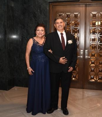 Los padres del novio, Mayra Luz Luque y José Luis Zelaya