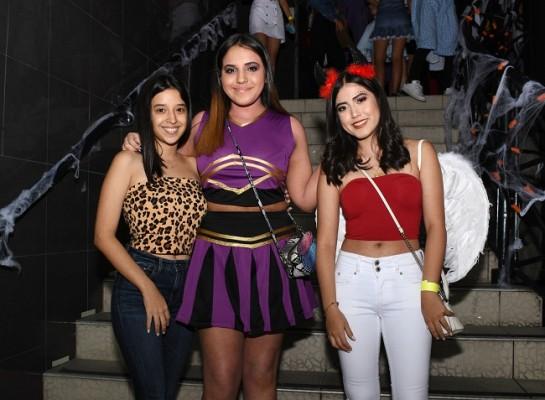 María Fernanda Berlíoz, Joey Márquez y Valeria Turcios