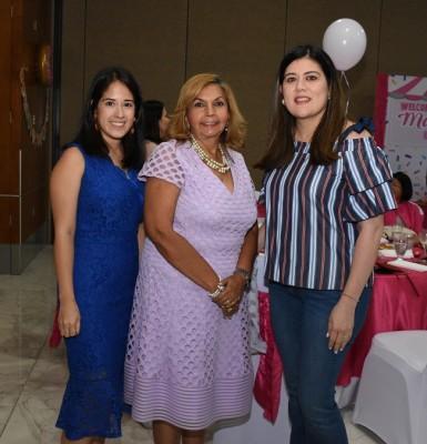 Melissa Ayala, Lolis de García y Claudia Meléndez