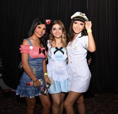 Nathaly Sánchez, Audrey Matamala y Andrea Enamorado