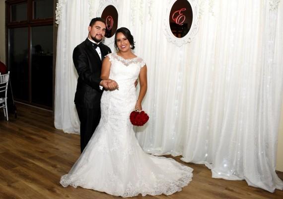 Onassis y Evelyn sellaron su amor luego de 1 año de compromiso matrimonial