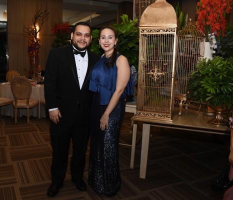 Paola Paz y Jesús Bermúdez