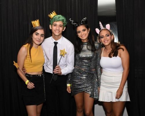 Pilar Jordán, Diego Matamala, Jessie Cali y Alexa Zacarías