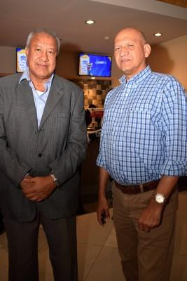 Ramón Mendoza y Javier Medina.