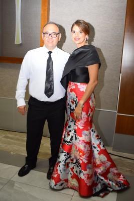 Roberto Méndez y Victoria Salgado