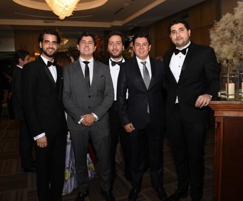 Roque Vitanza, Alejandra Avelar, Andrés Rosenthal, Juan Avelar y Christian Sunseri