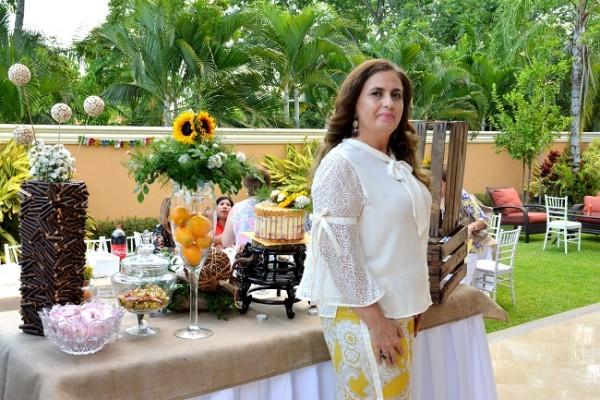 Rosa María Kattán fue finamente agasajada en su cumpleaños