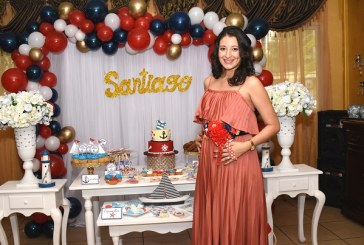 Un baby shower muy náutico para Samantha Reyes de Torres