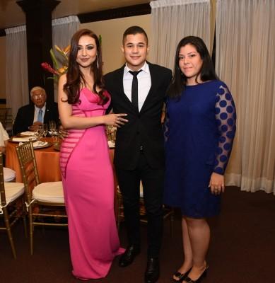 Sondra Zavala, Samuel Alfaro y Nora Alfaro