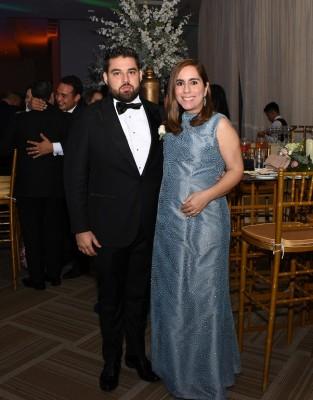 Vanessa Nazrala y José Vallecillo