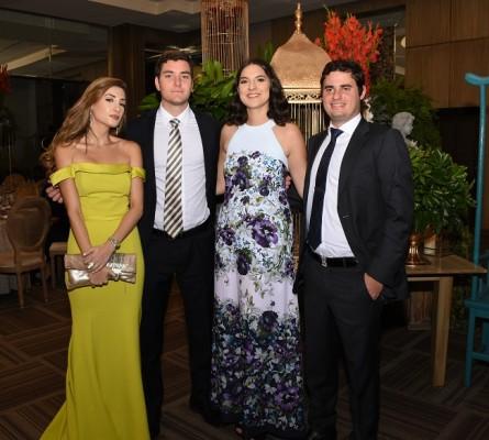 Vivian Atala, Juan Emilio Peña, Michelle Jaramillo y Alberto Fernández
