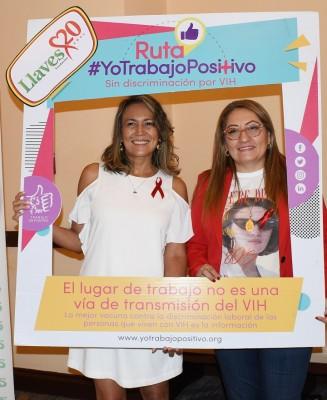 Fundación Llaves se suma a la campaña internacional #YoTrabajoPositivo