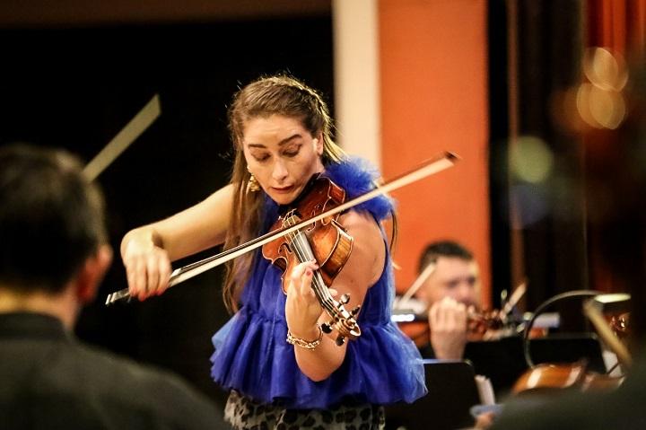 """Con el concierto """"Noche Sinfónica"""" concluyó Festival Internacional de Música en San Pedro Sula"""