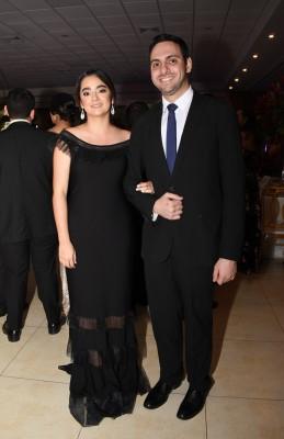 Adel Chahín y Alicia Chahín