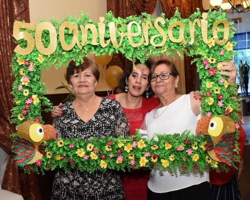 Alicia Miriam Carranza, Martha Ivonne Zelaya y Regina Sheran