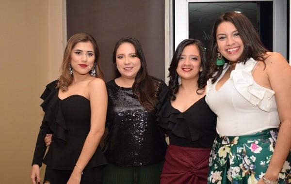 Ana Chiang, Gina Daccarett, Zoila Chirinos y Cinthia Amaya.