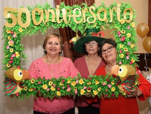 Ana Clara Vega Javier, Mercedes Bardales y Alexi Dubón