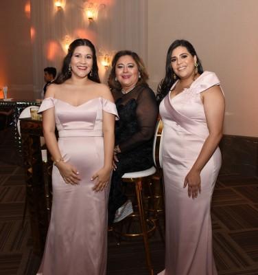 Andrea Córdoba, Mirna Carrión y Alejandra Moreno