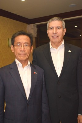 Benito Liao y Gilberto Limón.