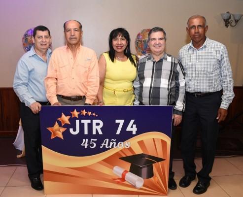 Carlos Fernández, Francisco Orellana, Alta Gracia Abreu, Ramón Sagastume y Omar Macedo