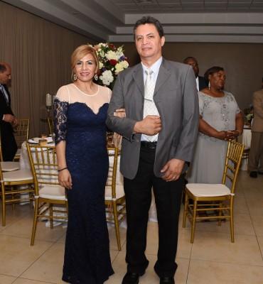 Claudia de Triminio y Dennis Triminio