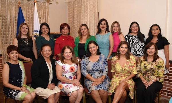 Club Rotario Merendón juramentación de 3 nuevas socias en noviembre de 2019..