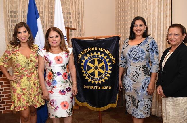 Club Rotario Merendón juramenta 3 nuevas socias