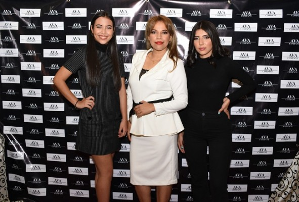 Daniela Matamoros, Karla Andrade y Nery Perdomo
