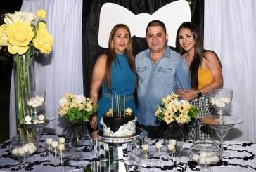 Inolvidable cumpleaños de Luis Morales