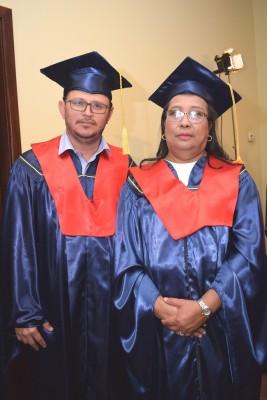Edwin Funes y Gilma Padilla.