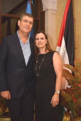 Elías y Rania Kharoufeh.