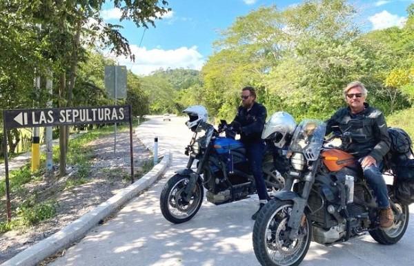 Ewan McGregor y Charlie Boorman fascinados con Honduras