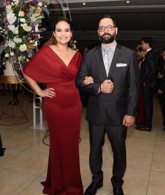 Fadi Dib y Gabriela de Dib