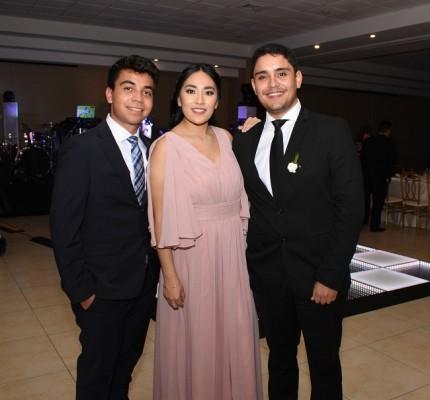 Fernando Vega Amaya, Virginia Zarco y Gerardo Amaya