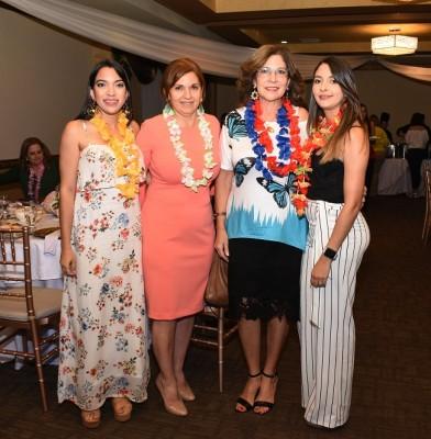 Gabriela Peña, Nohal Diek de Mendoza, Yelile Gabrie y Stephanie Gabrie