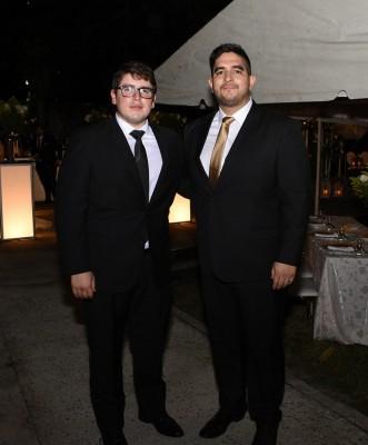 Gustavo Figueroa y César Arechavala