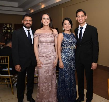 Héctor Hernández, Isabel David, Tamy Díaz y German Reyes