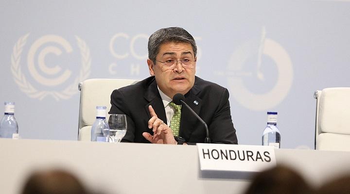 Hernández propone destinar pago de la deuda de Honduras a mitigar daños climáticos