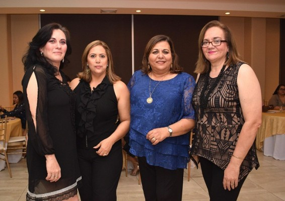 Jazmín Estrada, Paty Faasch, Lizeth Aude y Lula Walton.