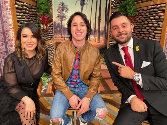 Jorge Alejandro, recién expulsado de La Academia en el programa Venga La Alegría