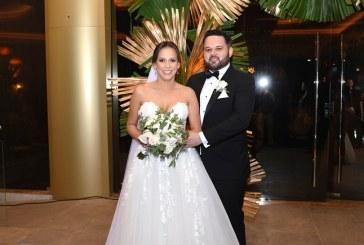 Juan Carlos y María Fernanda: una boda de inspiración rústica-chic