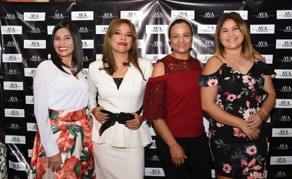 Karen Solórzano, Karla Andrade, Marielena Antúnez y Sandra Maribel Aguilar