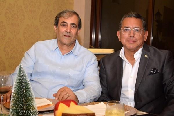 Karim Qubain y Pedro Cubas.