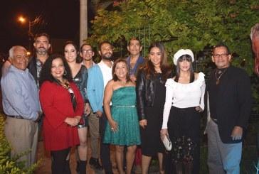 Cineastas, actores y actrices de la zona norte celebran Navidad