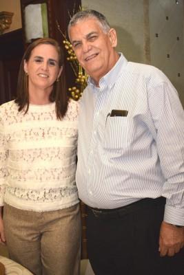 María Isabel Rodríguez y Juan Bendeck.