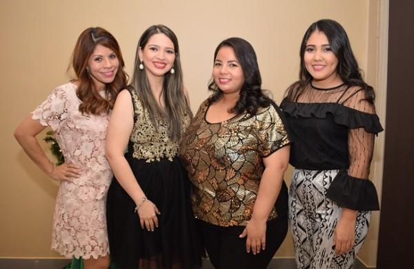 Mariela Padilla, Grace Jácome, Olivia Hendricks y Nely Castro